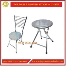 Bangku & Kursi Stainless Steel / Foldable Round Stool & Chair STO-GX32 / STO-GX11 Commercial Kitchen