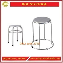 Bangku Stainless Steel / Round Stool STO-GD04 / STO-GD02 /STO-1175 Commercial Kitchen