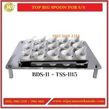 Tempat Sendok Stainless Steel / Top Big Spoon For SS BDS-11 +TBS-1115 Commercial Kitchen