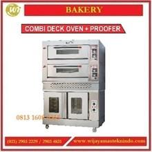 Mesin Pemanggang Roti / Combi Deck Oven + Proofer / RFL-24SS + FJ10 Mesin Pemanggang