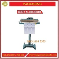 Mesin Penyegel Plastik / Pedal Impluse Sealer Body Alumunium PFS-350 / PFS-450 Mesin Segel