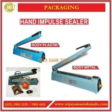 Mesin Penyegel Plastik / Hand Impluse Sealer HIS-300OC / HIS-400PC / HIS-300MH / HIS-400MH Mesin Segel