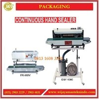 Mesin Penyegel Plastik / Continuous Hand Sealer FR-900V / DBF-1000 Mesin Segel