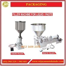 Mesin Pengisi Cairan / Filler Machine For Liquid atau Paste A02 / A03 / GCG-A / GCG-BL Mesin Pengisian