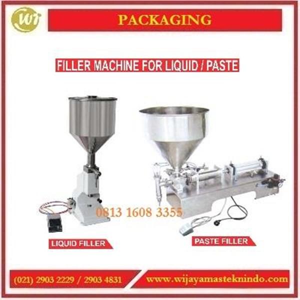 Mesin Pengisi Cairan / Filler Machine For Liquid atau Paste A02 / A03 / GCG-A / GCG-BL Mesin Pengisian