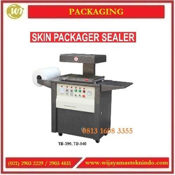 Mesin Pengemas / Skin Packager Sealer TB-390 / TB-540 Mesin Pembuat Kemasan