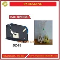 Jual Alat Mengikat Kantong Dengan Isolatif / Bag Binding DZ-88 Mesin Label
