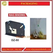 Alat Mengikat Kantong Dengan Isolatif / Bag Binding DZ-88 Mesin Label