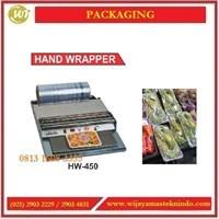 Jual Mesin Pembungkus Produk Buah & Sayuran / Hand Wrapper HW-450 Mesin Pembuat Kemasan