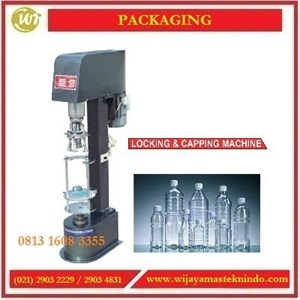 Mesin Pemasang Tutup Botol  / Locking & Capping Machine JGS-980 Mesin Pengisian