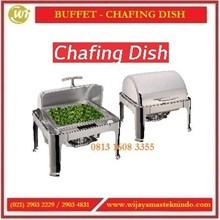 Tempat Penyaji Makanan / Chafing Dish Retangle Roll YH-722D Commercial Kitchen