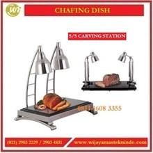 Display Pemanas Daging Siap Saji / SS Carving Station CS-901 / CS-501 Commercial Kitchen