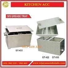 Alat Penyaring Minyak / SS Grease Trap GT-433 / GT-422 / GT-633 Commercial Kitchen