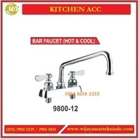 Kran Air Cuci Piring Panas & Dingin / Bar Faucet (Hot & Cool) 9800-12 Commercial Kitchen