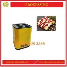 JX-DCJ04 Mesin Sosis Telur Egg Sausage Machine With Electric Mesin Makanan dan Minuman Cepat Saji