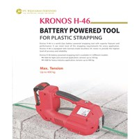 BATTERY POWERED TOOL FOR PLASTIC STRAPPING / KRONOS H-46