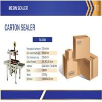 Carton Sealer Machine / Mesin Lakban Dus / FXJ-5050 Mesin Segel Atau Pelakban