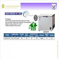 Chest Freezer -15~-26°C / AB-330-ITR / Pendingin