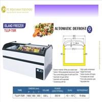 Island Freezer / Freezer Buah / TULIP-750R
