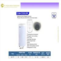Kabinet Pendingin Minuman Kaleng / Can Cooler / Chiller / SC-77Y