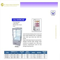 Cold Showcase / Showcase Pendingin Makanan & Minuman / RT-68L-3