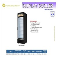 Lemari Pendingin / Pendingin Minuman / Display Cooler EXPO-480WG Mesin Makanan dan Minuman Cepat Saji