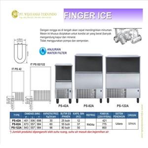 Mesin Pembuat Es Berbentuk Jari / Finger Ice / Ice Maker Finger / PS-42A / PS-82A / PS-122A