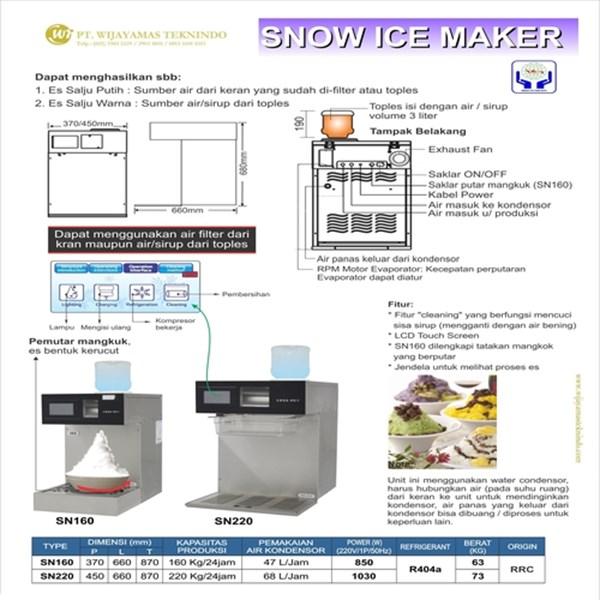 Mesin Pembuat Es / Snow Ice Maker / SN160 / SN220