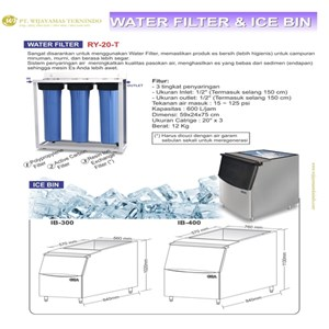 Filter Air / Water Filter & Ice Bin / RY-20-T / IB-300 / IB-400