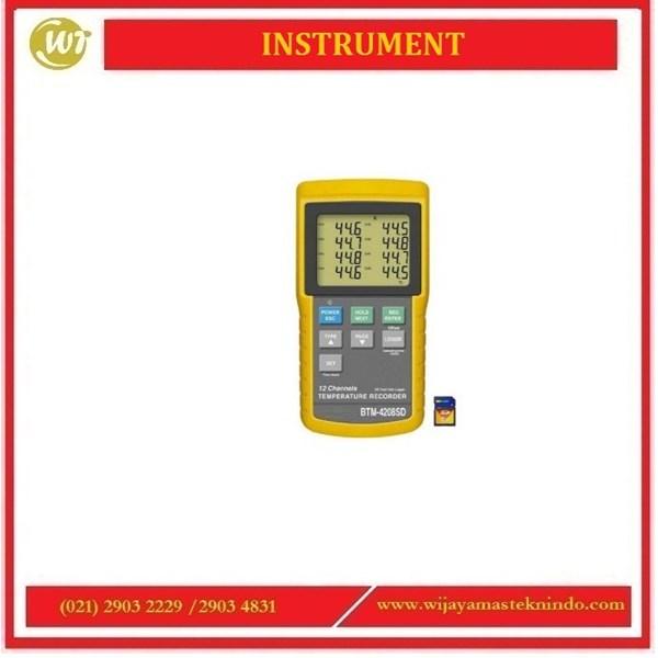 TEMPERATURE RECORDER BTM-4208SD