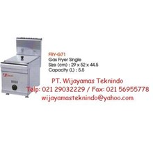 Gas Fryer Single FRY-G71
