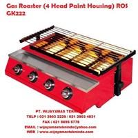 Gas Roaster ROS-GK222 Fomac (Mesin Pemanggang)  1