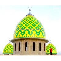 Kubah Masjid Panel Warna