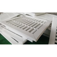 Exhaust Air Grille Return And Supply 400 Mm X 400 Mm