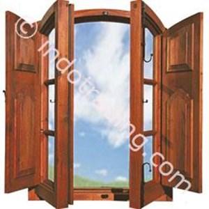 Kusen Jendela 2 Pintu