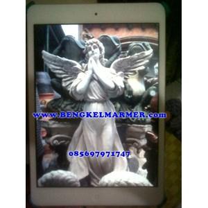 Patung Malaikat Angel www.BENGKELMARMER.com