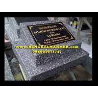 Black Granite Headstone Sample
