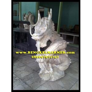 Contoh Ukiran Patung Naga Batu Marmer Onix Onyx