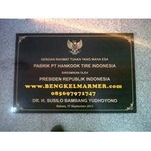 BENGKELMARMER.com Informasi Daftar Harga Prasasti Peresmian Gedung Kantor Marmer Granit Terbaru Terlengkap Termurah Di Jakarta