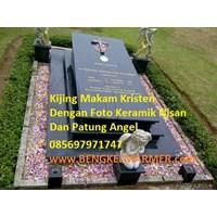 Jual www.BENGKELMARMER.com Informasi Daftar Harga Kijing Makam Kuburan Kristen Salib Terbaru Terkini Terlengkap Termurah Granit Marmer Hitam