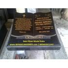 www.BENGKELMARMER.com Plakat Batu Nisan Makam Kuburan Model Buku Alquran Alkitab Marmer Granit Hitam TPU Karet Bivak Tanah Kusir Kampung Kandang Pemerintah Jakarta 2