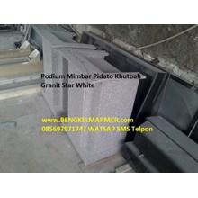 www.BENGKELMARMER.com Mimbar Podium Marmer Granite