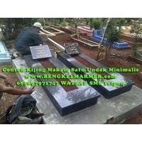 Jual www.BENGKELMARMER.com Informasi Harga Contoh Bodi Kijing Makam Satu Trap Undak Marmer Granit Hitam Terbaru Termurah Terlengkap