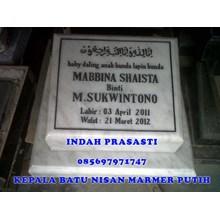 www.BENGKELMARMER.com Tempat Pembuatan Batu Nisan Marmer