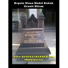 www.BENGKELMARMER.com Batu Nisan Marmer Granit Harga Murah Untuk Makam Kuburan Model Kubah Masjid Indah Cantik