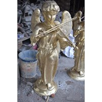 Angel Statue Hand Made by Brass Jakarta Indonesia