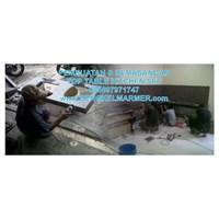 www.BENGKELMARMER.com Pasang Meja Dapur Top Table Kitchen Set Marmer Granit Murah di Jakarta