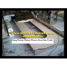 www.BENGKELMARMER.com  contoh harga kijing makam marmer krem tulungagung ujung pandang bandung murah
