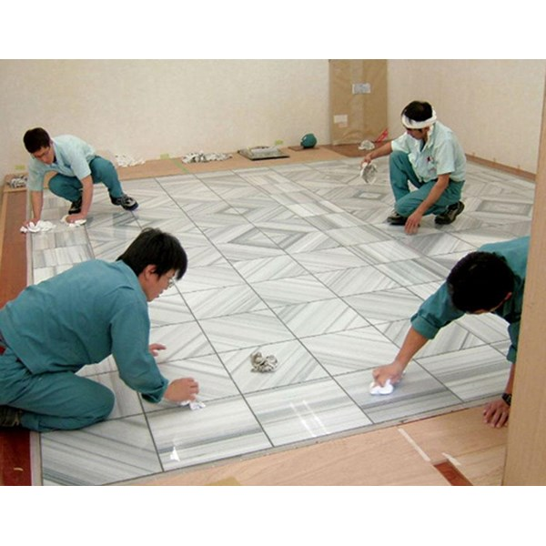 www.BENGKELMARMER.com Marble Floor Installation In Jakarta Indonesia