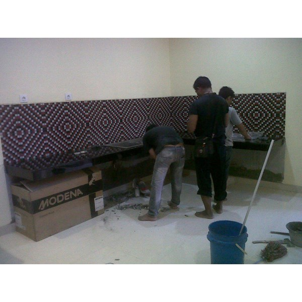 www.BENGKELMARMER.com Jasa Pembuatan Pasang Pemasangan Kitchen Set Marmer Granit di Jakarta Surabaya Medan Bandung